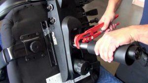popravilo dvižnega mehanizma pisarniškega stola